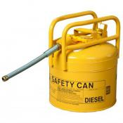 yellow diesel DOT approved safety can