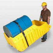 3 in 1 single drum containment cart