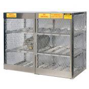 Horizontal Cabinet - 12 LPG cylinders | A23004J