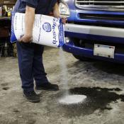 granular spill absorbent