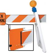 plastic i-beam sign rail clip