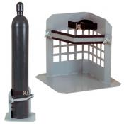 Low Profile Single Gas Cylinder Stand A35282J