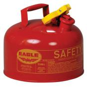 2.5Gallons -  Eagle Safety Gas Can - Flammables - NO Funnel