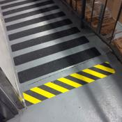 non-slip gripper tape on ramp