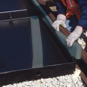 polyethylene railroad track pan gasket A9569U
