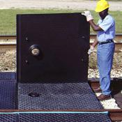railroad track pan center pan cover A9580U