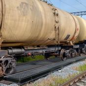 railroad track pans composite 20ft model