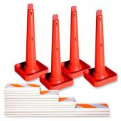 safety cone and rails truck kit