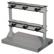 6-gas cylinders forklift pallet stand A35234J