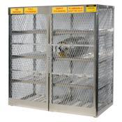 Horizontal Cabinet - 16 LPG cylinders | A23005J