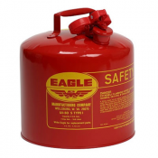 type 1 red safety gas can