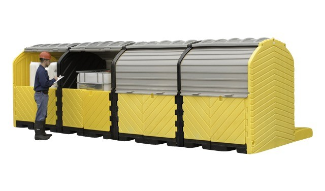 A1167U IBC Modular Ourdoors (set-up 4 IBC modular outdoor)