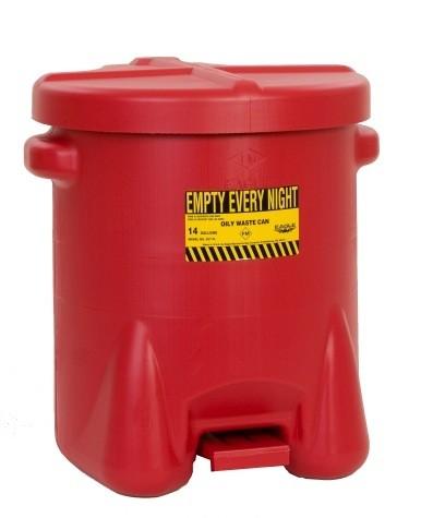 Hazardous Oily Waste Cans