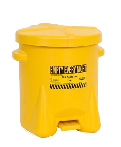 Disposal Oily Waste Cans