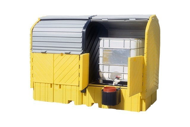 A9651U 8 Drum Outdoor Use (heavy duty poly with drain)