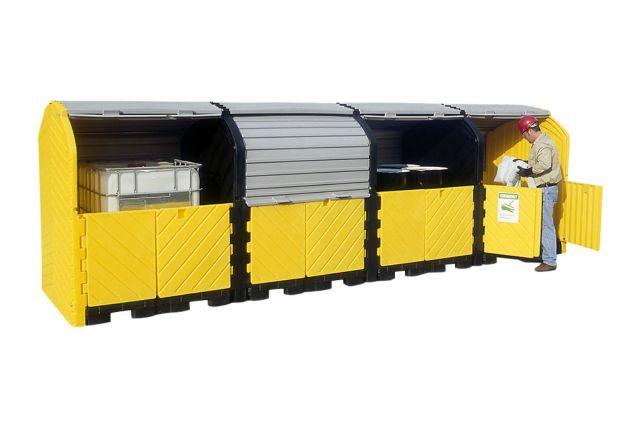 A9654U & A9655U 16 Drum (best outdoor drum storage)