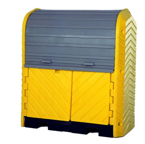 A9612U Covered Drumb Pallet (2 drum spill containment)