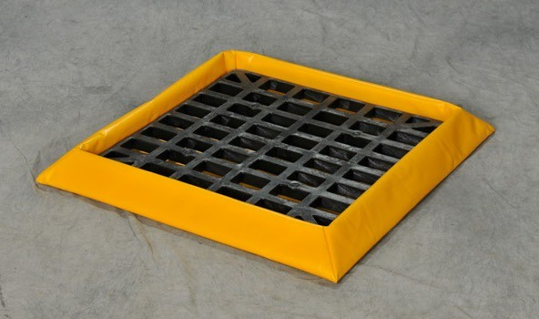 Portable Spill Pallet With Grate