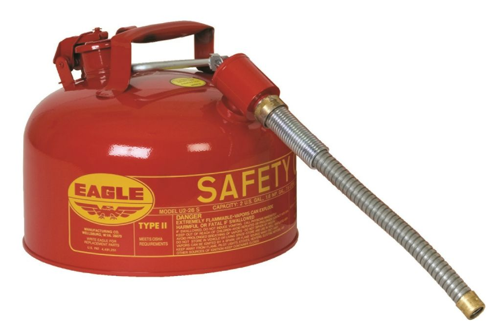 AU226SE Safety Gas Cans (red type 11 safety cans)