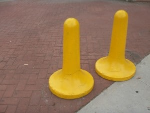 Bollards photo courtesy of Daniel Lobo via Flickr Creative Commons.