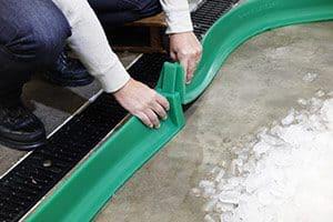 Spill containment berm dike