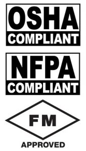 osha nfpa fm compliance and approval