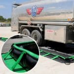 tanker fuel spill containment berm