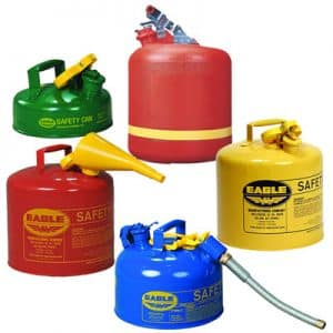 safety cans for fuels