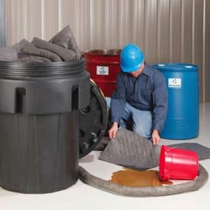 spill cleanup and containment products