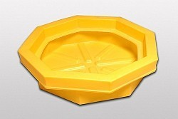 A1045U - Drum Tray without Grate (drum spill tray no grate)