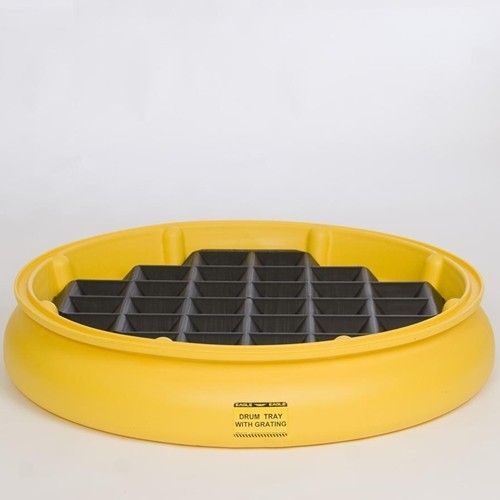 A1615E - Drum Spill Tray with Grate (spill tray with grate)